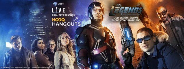 HOOQ Hangouts - debuts with DC's Legends of Tomorrow
