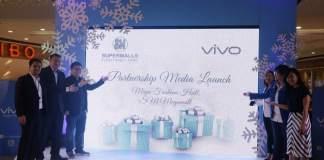 Vivo x SM Supermalls for Christmas season 2016