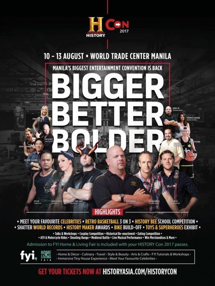 HISTORY Con Manila 2017 Poster