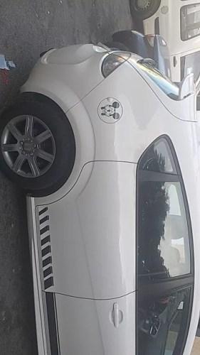 Cute Mickey car decal waterproof reflective universal Die cut sticker vinyl warning sticker motorcycle sticker car shape Black/Silver photo review