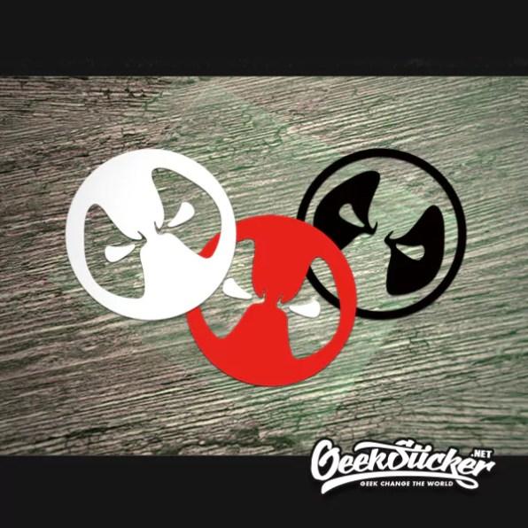 Deadpool-waterproof-reflective-universal-car-body-sticker-vinyl-car-bumper-sticker-motorcycle-sticker-Black-Red-White-2