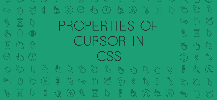Change Cursor Style Using Its Properties In CSS