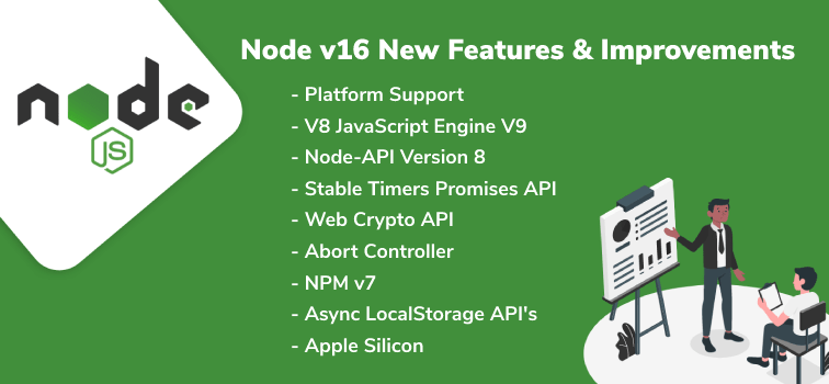 Node 16 is released with updated platform support and much more!