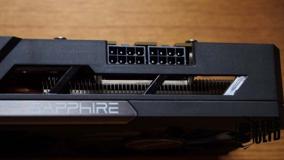 Do note that this graphics card requires two 8-pin