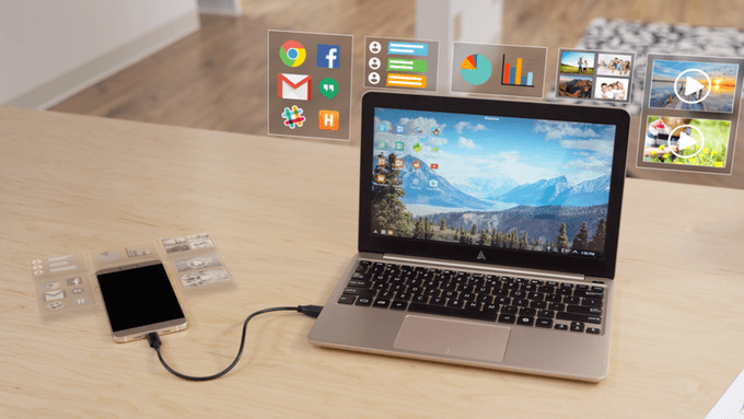 This Amazing Device Turns Your Smartphone Into a Laptop