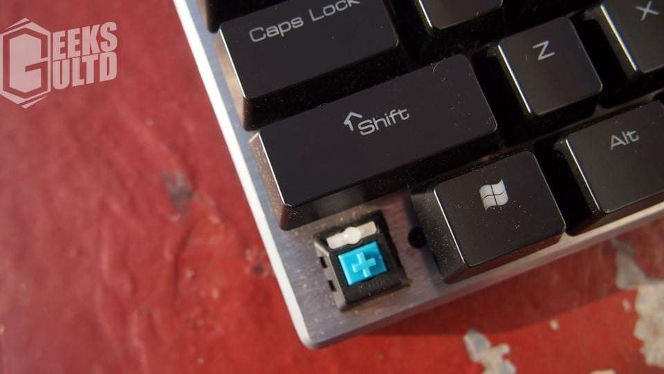 Armaggeddon MKA 11R Kailh Blue Switch