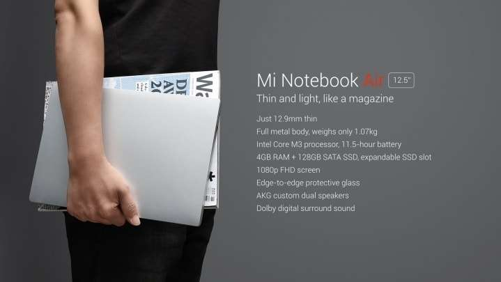 Xiaomi Notebook Air 12.5(1)