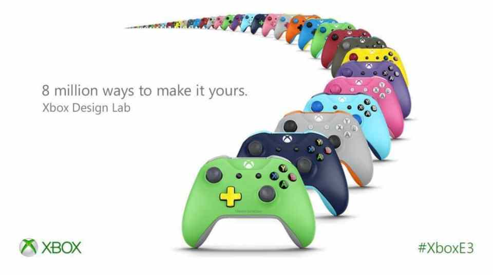 With Xbox Design Lab, you can get a custom-made Xbox One S controller for $79.99