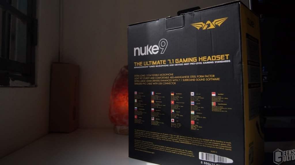Armaggeddon Nuke9 7.1 Gaming Headset Review - GeeksULTD 3