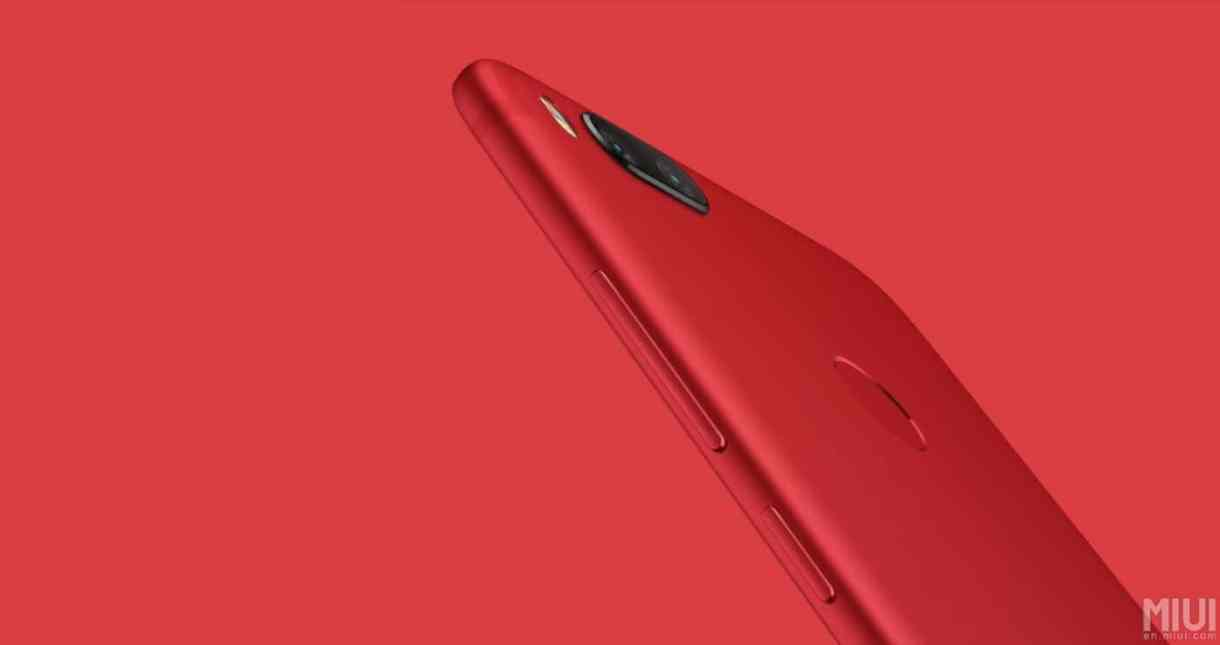 "Xiaomi Mi 5X ""Red Edition"" is Now Officially Out"