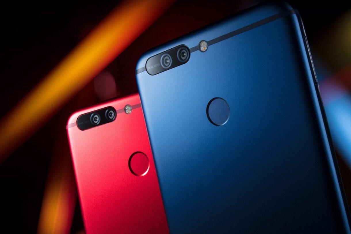 Huawei Honor V9 Blue Red