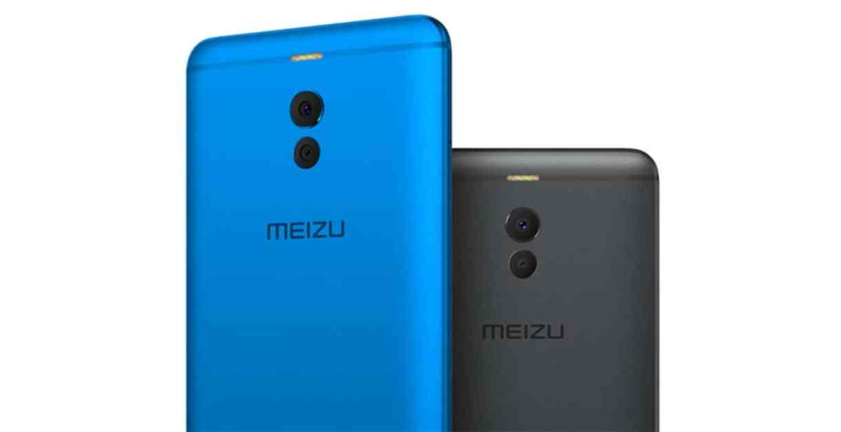 Meizu M6 in Black and Blue Rear