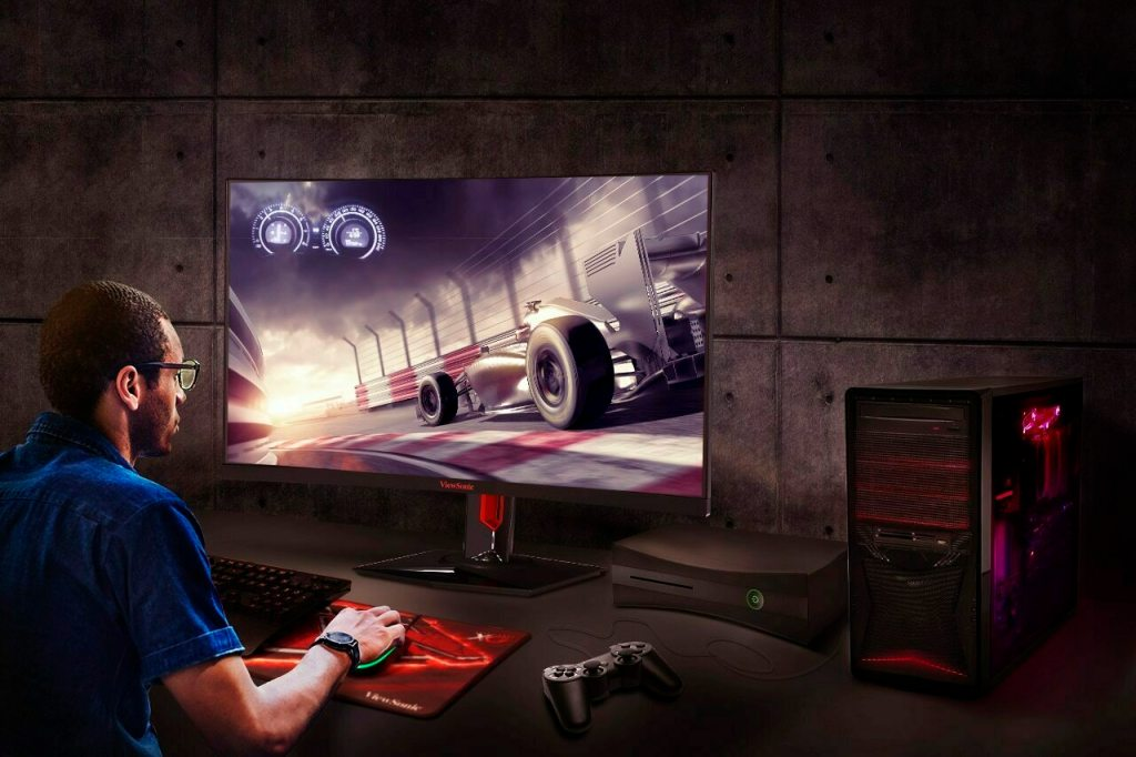 Viewsonic's XG3240C Curved Monitor Announced, A QHD 1440p, 144Hz, HDR-enabled Gaming Monitor