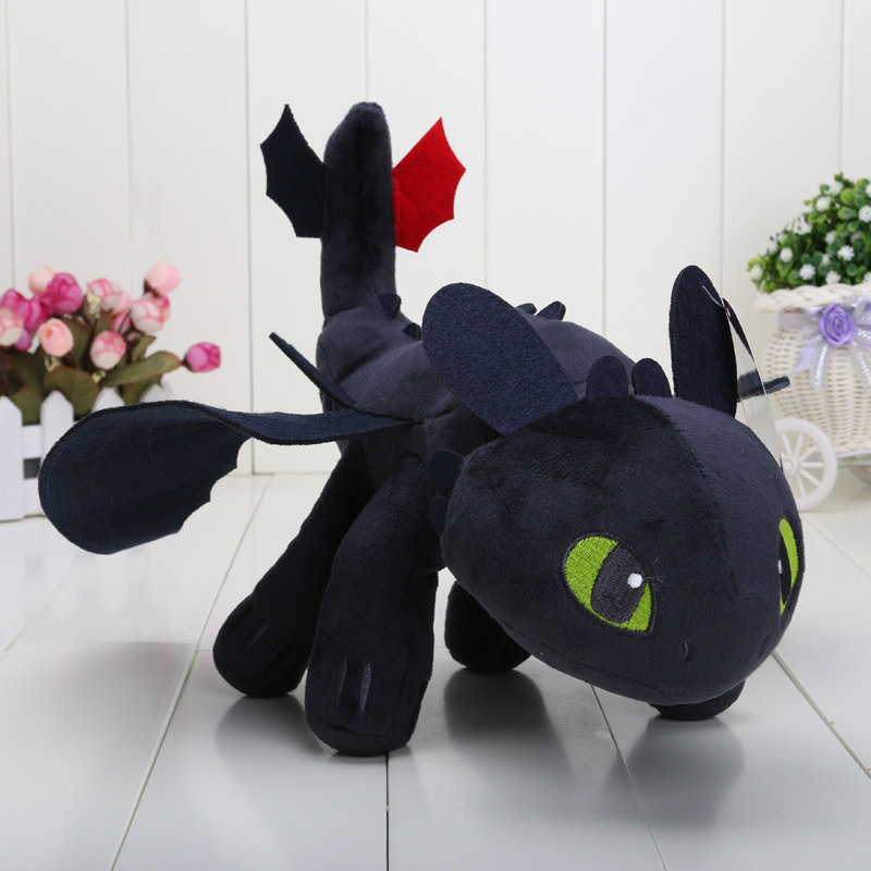 How To Train Your Dragon Toothless Dragon Plush Toy