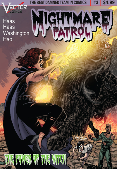 Review: Nightmare Patrol #3 by Vector Comics