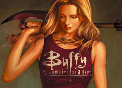 Buffy Season 8 Comic Book