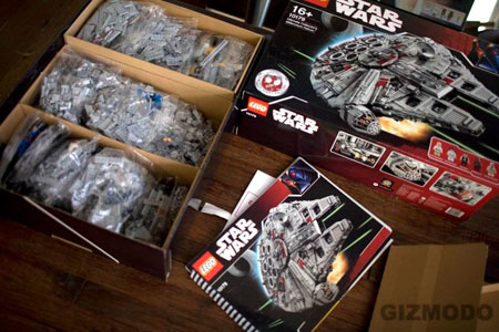 The LEGO Ultimate Collector's Millennium Falcon