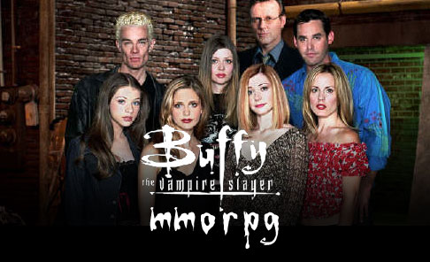 Buffy The Vampire Slayer MMORPG Announced!