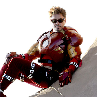 Robert Downey Jr In Iron Man 2