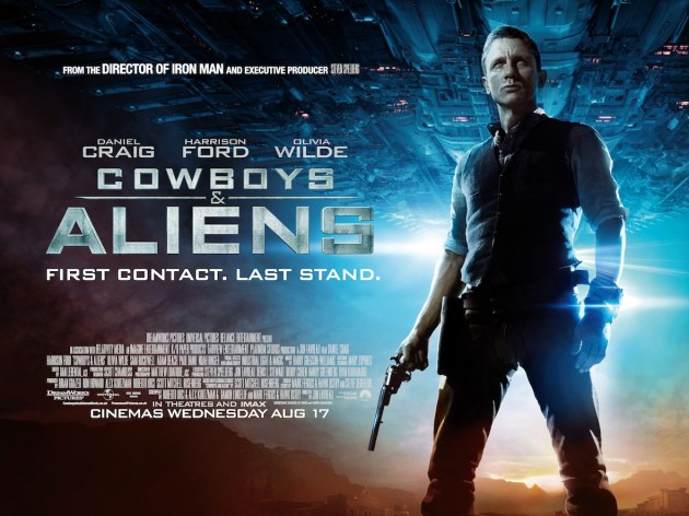 Cowboys and Aliens is released on August 17th 2011