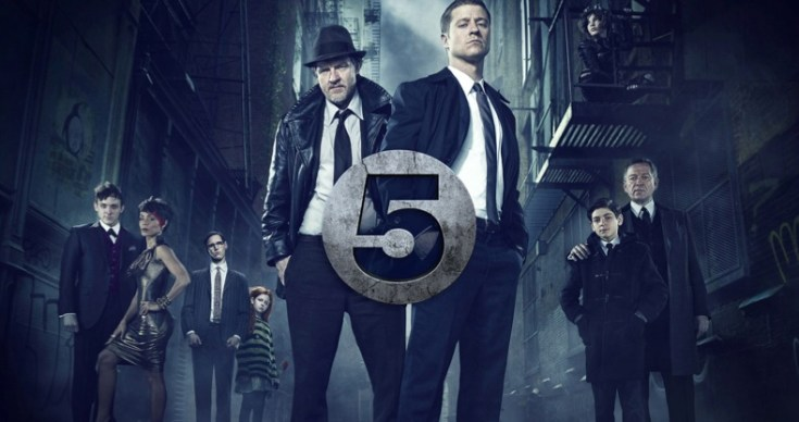 Gotham comes to Channel 5 - 13th Oct 2014 at 9pm