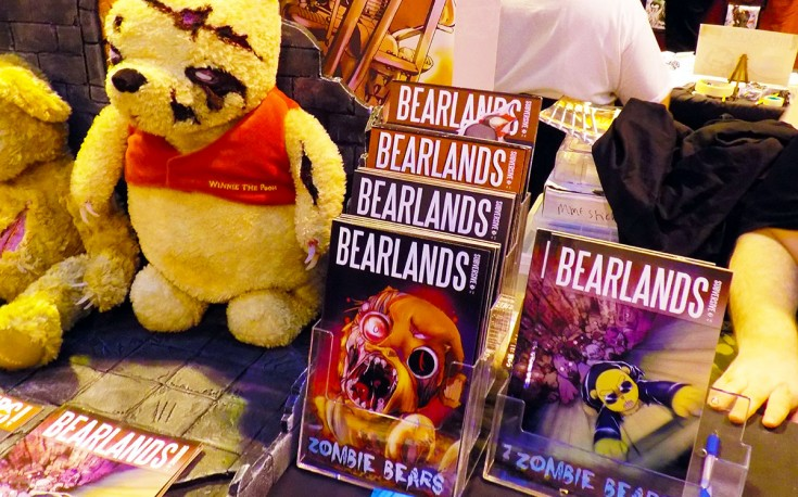 Bearland stand at Comic Con