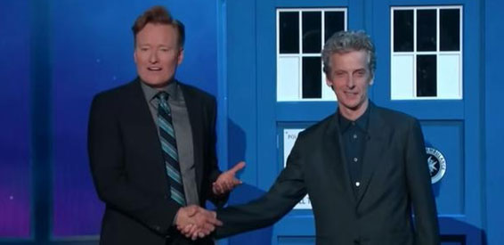 Conan O'Brien & Peter Capaldi