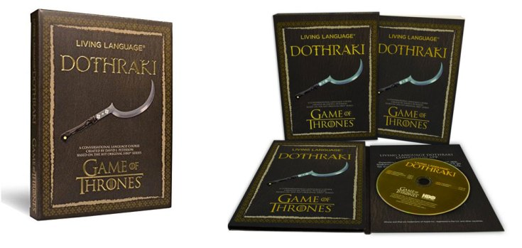Game of Thrones Living Language Dothraki Book