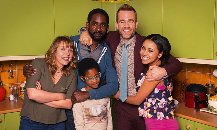 James Van Der Beek Cast In Sky 1 Comedy Carters Get Rich