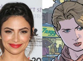 Floriana Lima Cast As Cop Maggie Sawyer On Supergirl