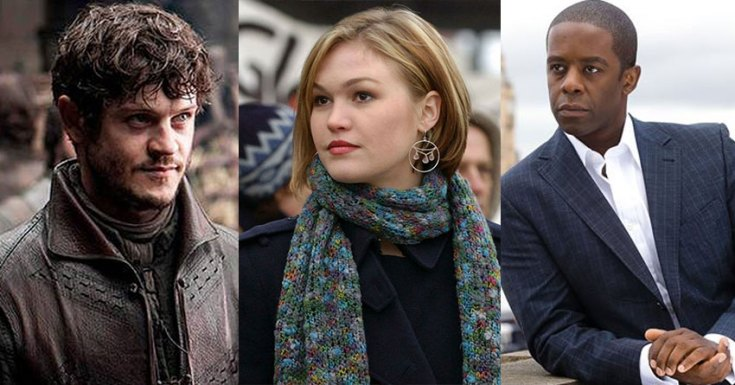 Sky Goes To The Riviera With Julia Stiles, Adrian Lester & Iwan Rheon