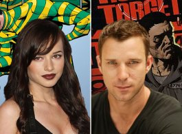 The Flash Casts 'Top', Arrow Casts 'Human Target'