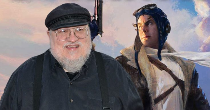 George R.R. Martin Superhero Show 'Wild Cards' In Development