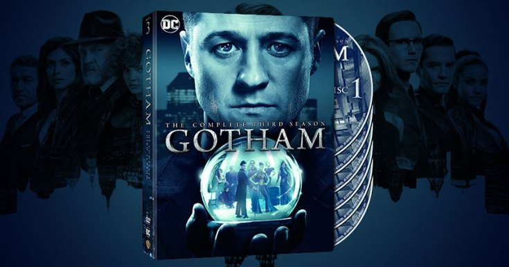 Win 'Gotham: The Complete Third Season' On DVD - Out On Blu-ray™ & DVD 28th August 2017