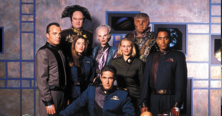 'Babylon 5' Comes To Pick TV. Rerunning On UK Primetime For First Time In 18yrs!