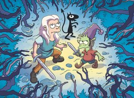 Netflix Releases First Images Of 'Disenchantment', New Show From 'The Simpsons' Matt Groening