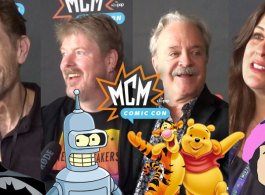 MCM Comic Con: The Voice Actors - Batman, Bender, Winnie The Pooh, South Park, Solid Snake