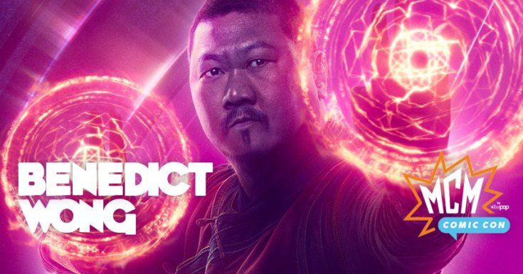 MCM Comic-Con: Benedict Wong Talks 'Doctor Strange', 'Infinity War', & 'Deadly Class' On The Main Stage