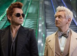 First Official Photos Released Of David Tennant, Michael Sheen & Jon Hamm In 'Good Omens'
