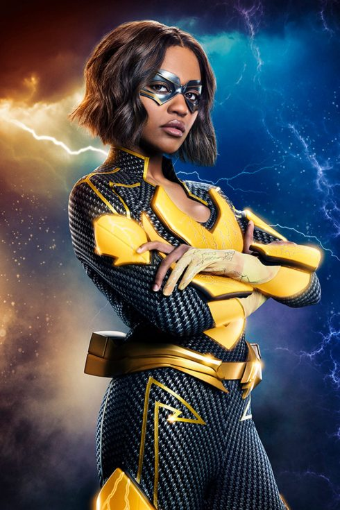 China Anne McClain as Lightning - Photo: Quantrell Colbert/The CW -- © 2018 The CW Network, LLC. All rights reserved.