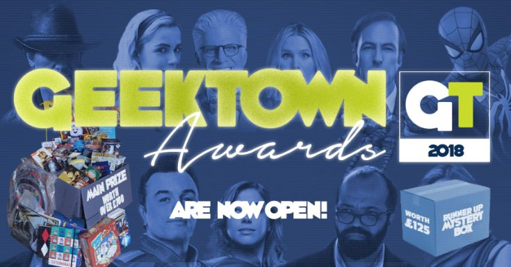 You Can Vote Now And Win In The 2018 Geektown Awards!
