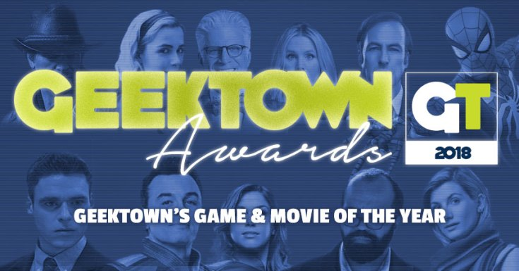 Geektown's Game & Movie of The Year