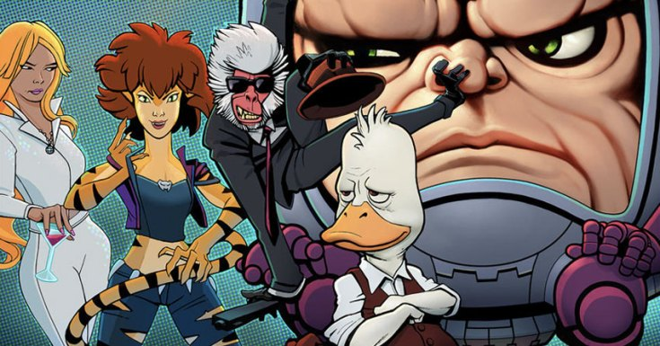 Marvel Announces 5 New Adult Animated Series Coming To Hulu, Including 'Howard The Duck'