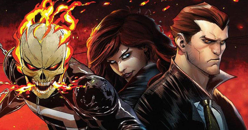Marvel/Hulu Announced Live-Action 'Marvel's Ghost-Rider' & 'Marvel's Helstrom' Series