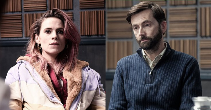 Netflix Releases Images & September Premiere Date For Unique Procedural 'Criminal' Starring David Tennant, Hayley Atwell & More