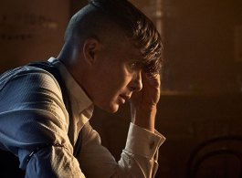 Cillian Murphy as Tommy Shelby. #PeakyBlinders Series 5 starts Sun 25th Aug at 9pm on BBC One. Photographer: Robert Viglasky / © Caryn Mandabach Productions Ltd. 2019
