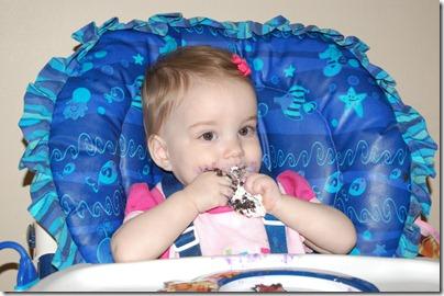 Baby Girls first birthday 2010-01-20 058