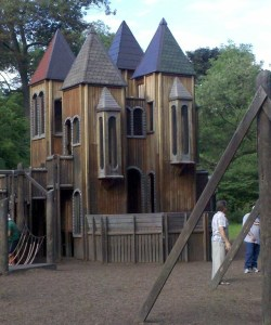 POD: Castle Playground with Nan