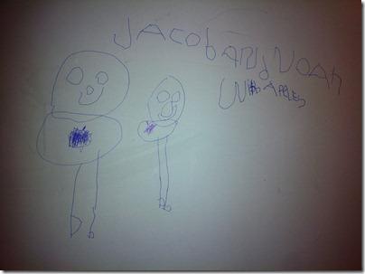 Jacob Writing on Wall