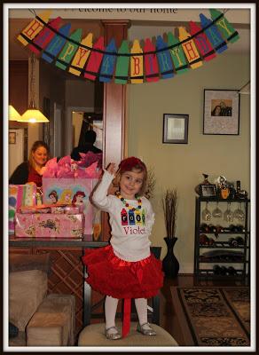 POD: Birthday Girl Violet